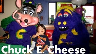 getlinkyoutube.com-Chuck E. Cheese's Fun Birthday Party || MayandJC