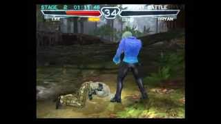 getlinkyoutube.com-Tekken 4 (PlayStation 2) Story Battle as Lee