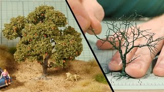 getlinkyoutube.com-Wire Tree Tutorial – Model Railroad