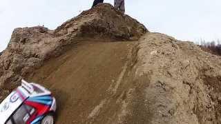 getlinkyoutube.com-RC Rally MONSTER VALLEY Stage 2: Tamiya TT01ES : Delta VS Escort Cosworth
