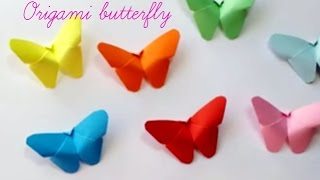getlinkyoutube.com-DIY Paper Crafts ::How to Make a Paper Butterfly(Very Easy) - Innovative Arts