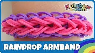 getlinkyoutube.com-Rainbow Loom Raindrop-Armband - deutsche Anleitung