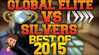 getlinkyoutube.com-CS GO - Global Elite VS Silvers - Best of 2015!