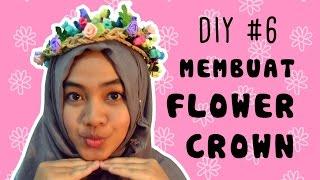 getlinkyoutube.com-DIY #6 Membuat Flower Crown Peri Hutan | Sampan Mimpi