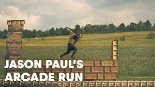 getlinkyoutube.com-Jason Paul Arcade Run - Freerunning in 8bit