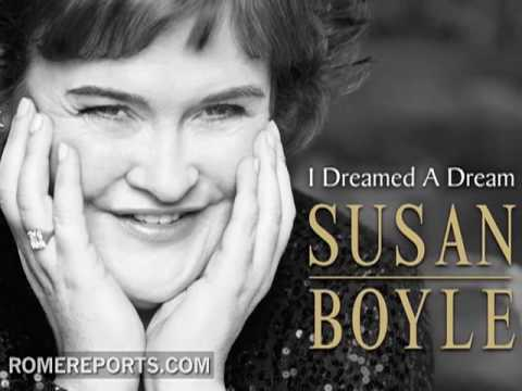 Susan Boyle quiere cantar ante Benedicto XVI