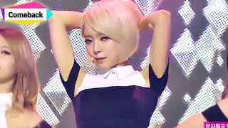 getlinkyoutube.com-[Comeback Stage] AOA - Miniskirt, 에이오에이 - 짧은 치마, Show Music core 20140118