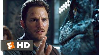 getlinkyoutube.com-Jurassic World (8/10) Movie CLIP - Raptors vs. Indominus (2015) HD