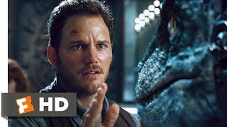 Jurassic World (8/10) Movie CLIP - Raptors vs. Indominus (2015) HD