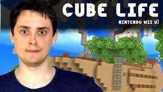getlinkyoutube.com-CUBE LIFE ISLAND SURVIVAL | Klocki! | Nintendo Wii U Gameplay PL