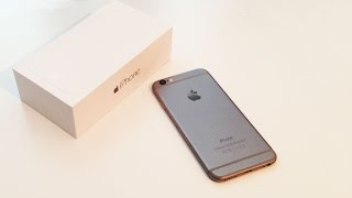 getlinkyoutube.com-IPHONE 6 UNBOXING 64GB BLACK SLATE