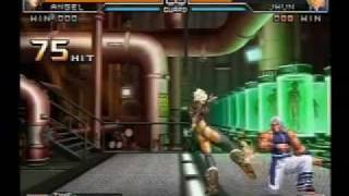 getlinkyoutube.com-KOF 2002 UM Iori & Ikari Warrior & Nests Team and Nameless death combo movie