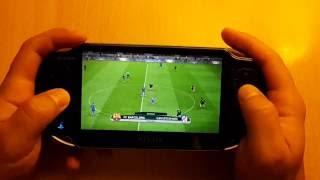 getlinkyoutube.com-Pro Evolution Soccer 2017   PS Vita Gameplay   Remote Play