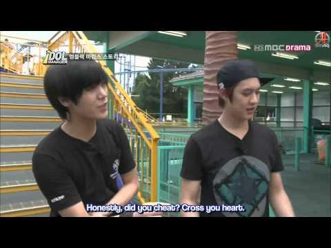 {SINAQ} 120824 MBLAQ Idol Manager Ep. 2 (3/3)