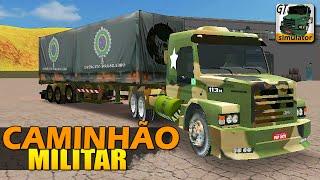 getlinkyoutube.com-Grand Truck Simulator - CAMINHÃO MILITAR