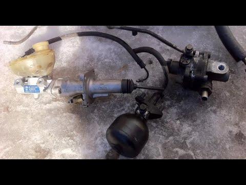 Переделка с гидроусилителя тормозов на вакуум ауди S4