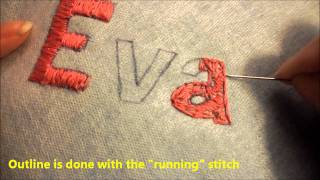 getlinkyoutube.com-Basics of Hand Embroidery