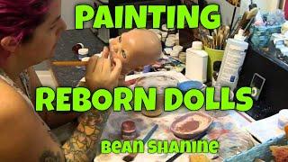 getlinkyoutube.com-Me Painting/sealer Reborns, and Idea of how I paint