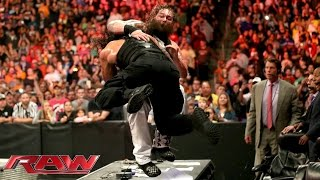 getlinkyoutube.com-Roman Reigns vs. Bray Wyatt: Raw, Sept. 28, 2015