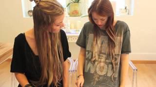 getlinkyoutube.com-Ombrè Hair & Pastel Pink Dip Dye mit Isabella!