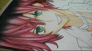 getlinkyoutube.com-Drawing Ayato Sakamaki - Diabolik Lovers