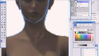 getlinkyoutube.com-Как нарисовать мангу не умея рисовать \ Урок 1 \ Poser + Manga Studio \ by Orb_Master