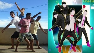 getlinkyoutube.com-Just Dance 4 - What Makes You Beautiful | 5 Stars | Gameplay