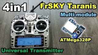 getlinkyoutube.com-4in1 multi protocol module for FrSKY Taranis from BangGood