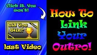 getlinkyoutube.com-How to Link your outro so people can click on your next video