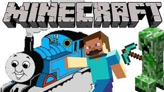 getlinkyoutube.com-Minecraft Mayhem Thomas & Friends