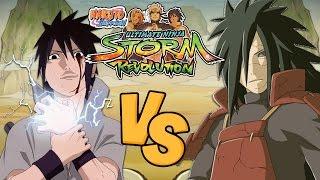 getlinkyoutube.com-Naruto Shippuden Ultimate Ninja Storm Revolution: Sasuke (EMS) Vs Madara (Rinnegan)
