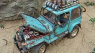 getlinkyoutube.com-Tamiya cc01 RC Jeep DIY Made in Hong Kong
