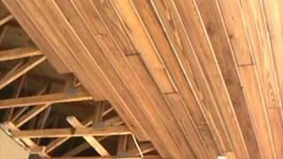 getlinkyoutube.com-Wood Ceilings - 2