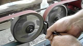 Double-Wheel Hollow Grinder