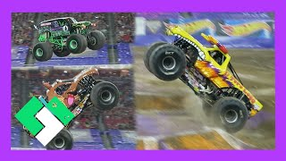 getlinkyoutube.com-CRAZY MONSTER JAM FREESTYLE (Day 1652)