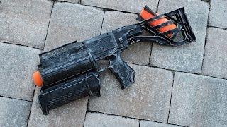 getlinkyoutube.com-[MOD] Nerf Grenade Launcher - Demolisher Missile Launcher Integration