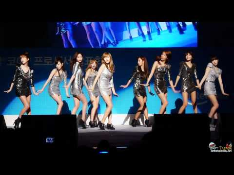 [Fancam] 110118 SNSD - Visual Dreams (Full ver.)@ Intel  #3