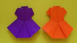 getlinkyoutube.com-Cara Membuat Origami Baju Seragam Sekolah | Origami Baju