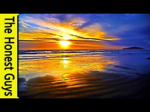 GUIDED SLEEP MEDITATION: Deep Relaxation. Ocean Waves