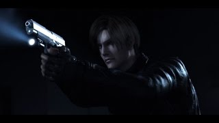 Leon salva a Claire en pasillo - Resident Evil Degeneration (Español)