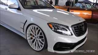 Ed Amani S550 benz on Amaniforged 24 inch Mondo Mesh at Florida Classics