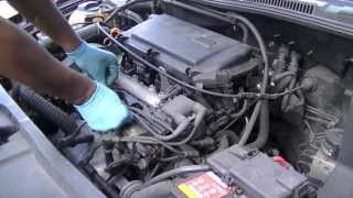 getlinkyoutube.com-VW Golf 1.4 16V Engine Oil and Filter Change AHW