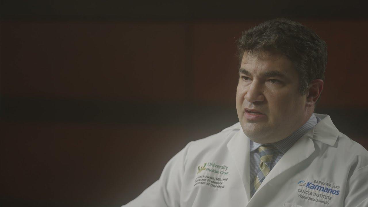 Meet Dr. Frank Cackowski  - Medical Oncology video thumbnail