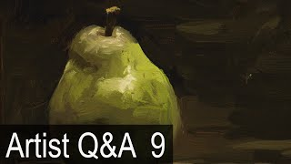 getlinkyoutube.com-Alla Prima Brushwork Demo & more – Ep.9 Oil Painting Q&A with Mark Carder