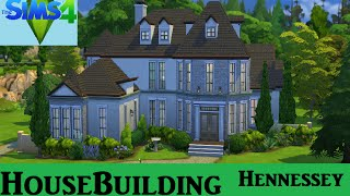 getlinkyoutube.com-The Sims 4: House Building - Hennessey House