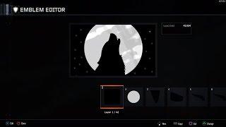 getlinkyoutube.com-Black ops 3: HOWLING WOLF emblem (easy)
