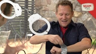getlinkyoutube.com-Six Ways to Escape from Handcuffs, Zip Ties & Duct Tape!