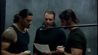 getlinkyoutube.com-WWE The Shield recording the beginning of their theme song!