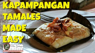 getlinkyoutube.com-EASY KAPAMPANGAN TAMALES (Mrs. Galang's Kitchen S3 Ep1)