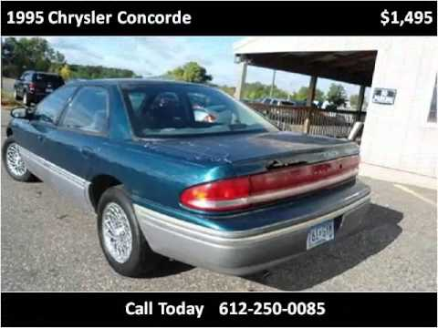 1995 Chrysler Concorde Problems Online Manuals And Repair